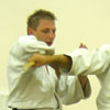 Knife defence drill